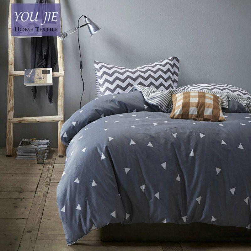 cotton duvet cover bed sheet set geometric bedding sets comforter sets cotton designer bed linen twin