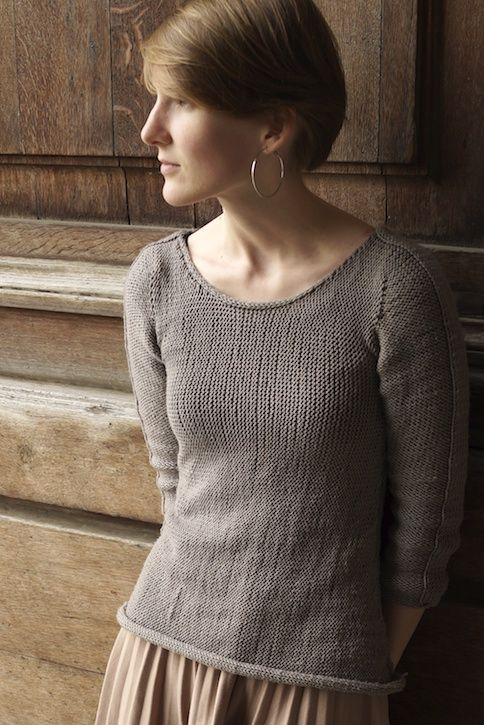 sideways sweater-Adorable free pattern! | Patrons | Pinterest ...