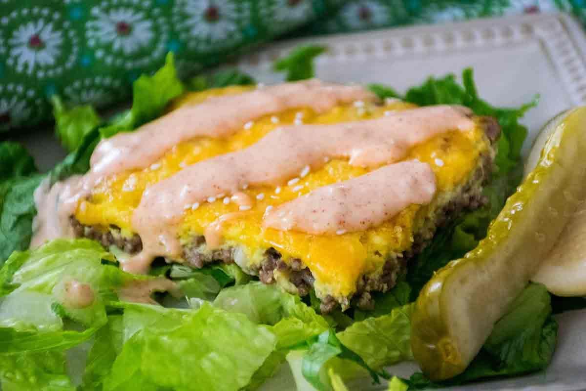 Big Mac Casserole - Keto Friendly Recipe - Honeybunch ...
