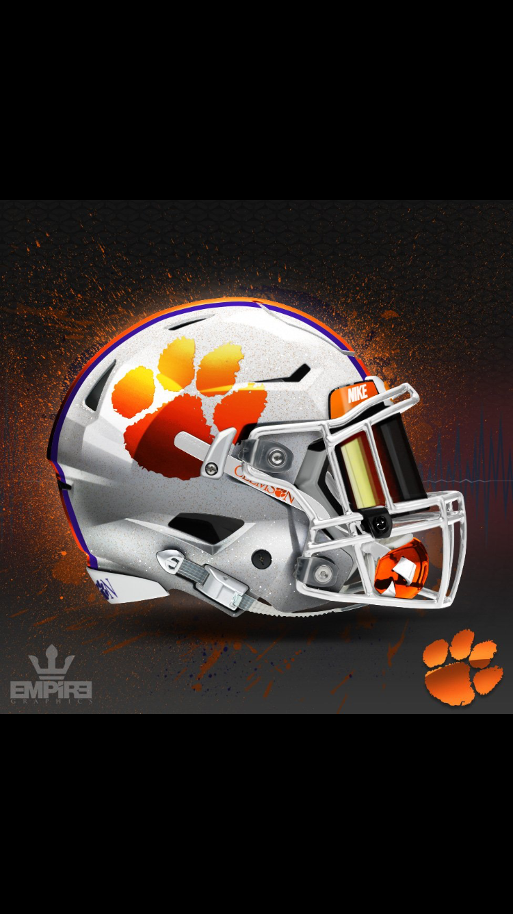 Pin By Braden Kimsey On Sports Clemson Tigers Football Football Helmets Clemson Football