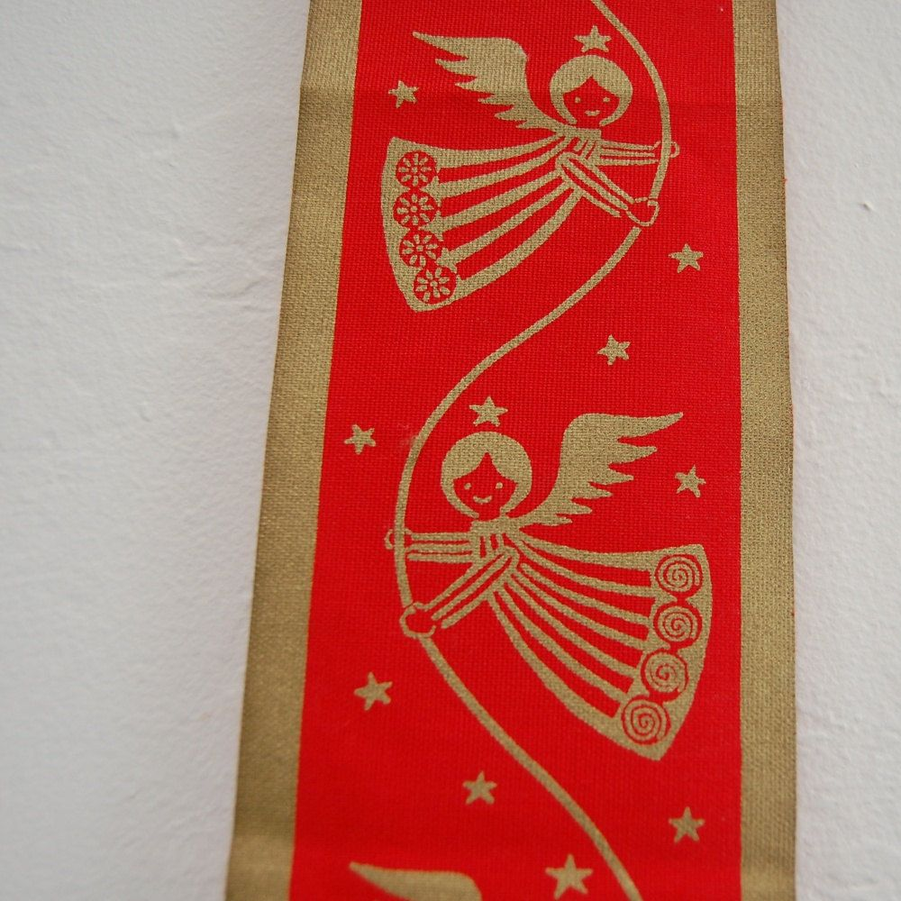 Vintage Angel Danish Wall Hanging Denmark Christmas