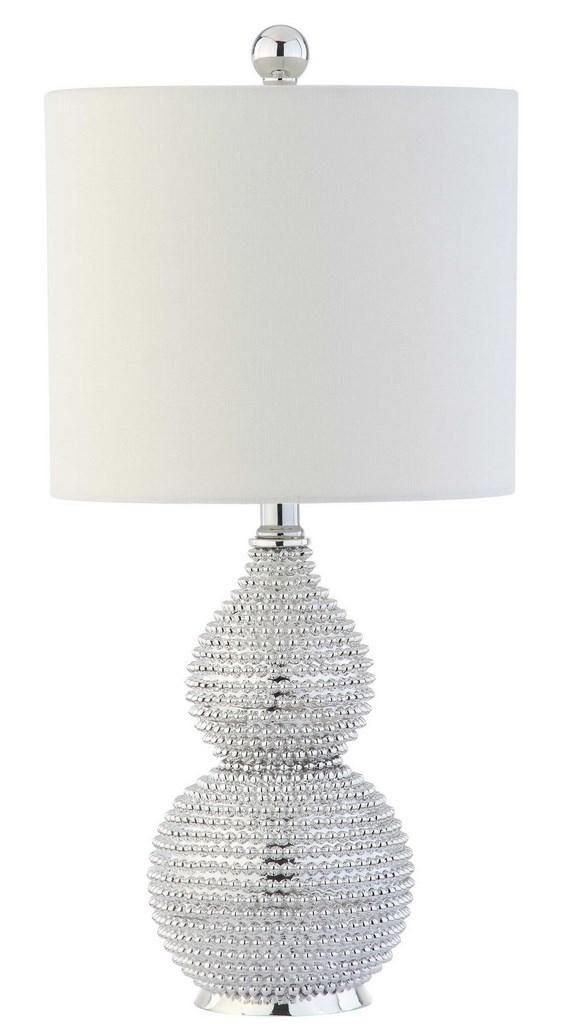 Tbl4042a Table Lamps Lighting By Safavieh Table Lamp Lamp Vase Table Lamp #silver #living #room #lamps