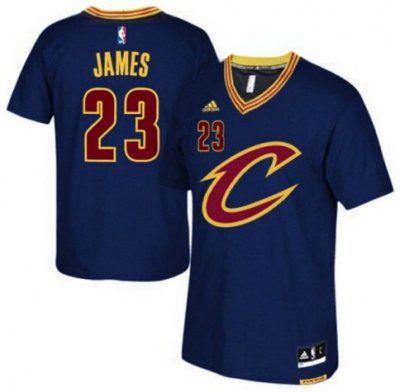 bb3c6fa09d7  23 Adidas Swingman LeBron James Men s Blue NBA Jersey - Cleveland Cavaliers  Pride