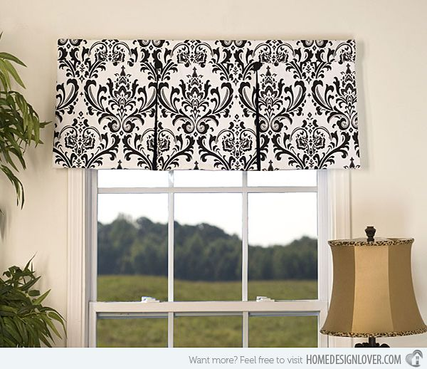15 different valance designs - Valance Design Ideas