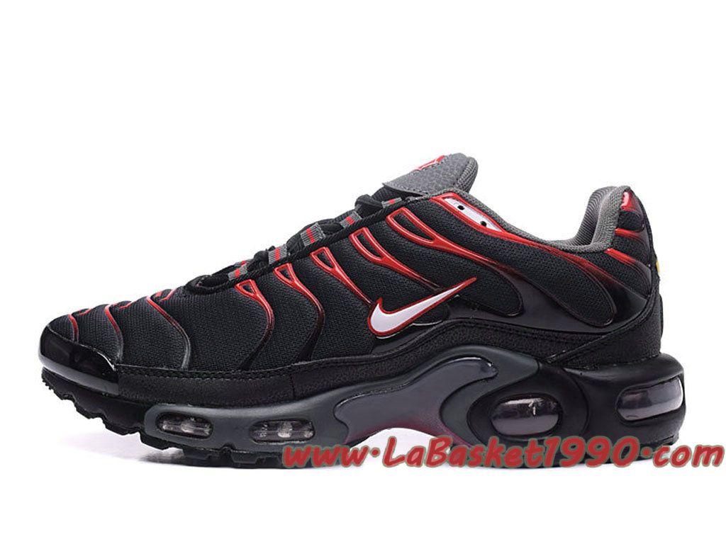 Homme Nike Air Max Plus Plus Plus Chaussures de BasketBall Pour Pas Cher Noir fa9fcf