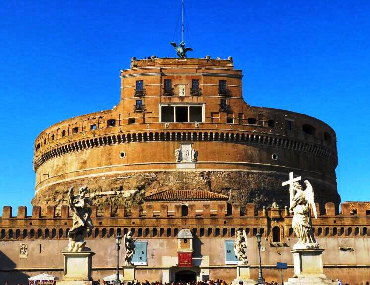 Castel Sant Angelo In Rome Italy On A Sunny Day Unlike Today S Rain Day At Italian Tennis Open Bit Ly 2fi9uc9 Tennis Ibi19 Castel Sant Angelo Rome Italy Rome