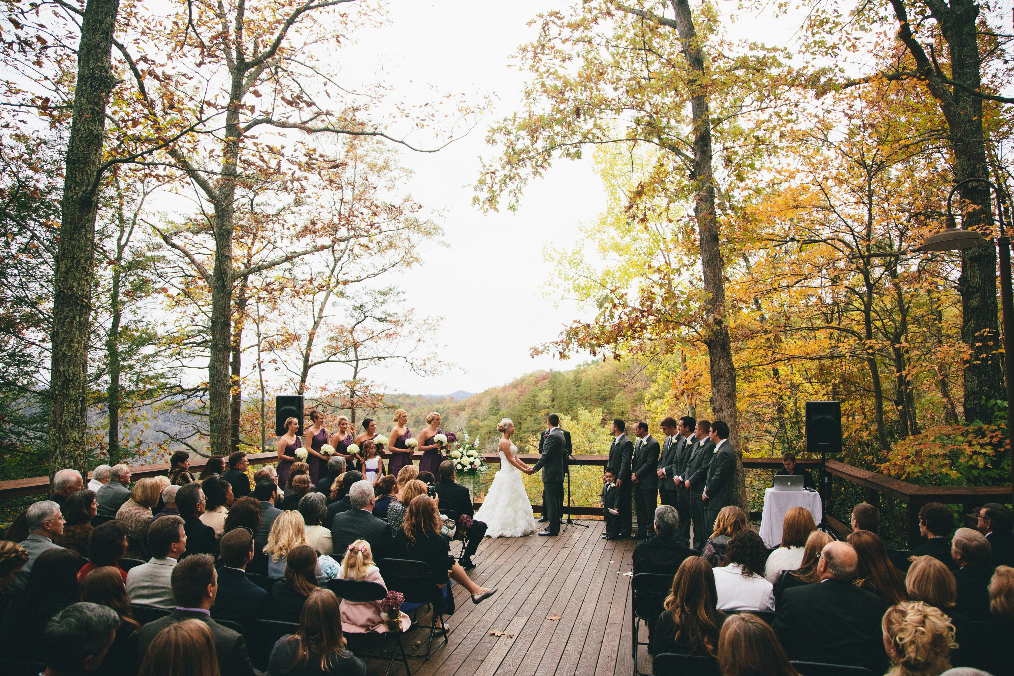 Weddings At Adventures On The Gorge New River West Virginia