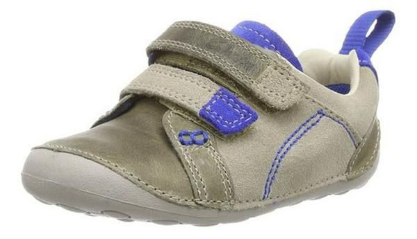 clarks soft leather baby shoes