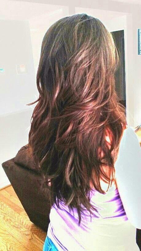 15 Model Rambut Layer Panjang Dan Pendek Long Hair Styles Hair Styles Haircuts For Long Hair With Layers