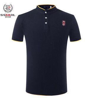 Summer Men Polo Shirt Men Casual Cotton Sportswear