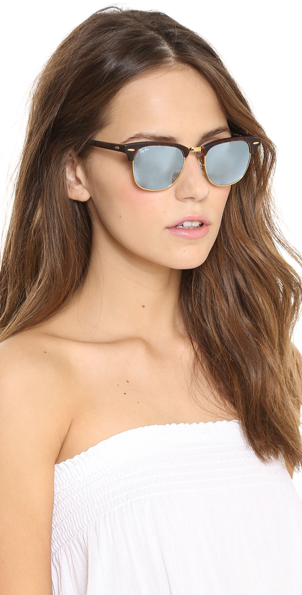 d3b5c96b3c Ray-Ban Mirrored Clubmaster Sunglasses