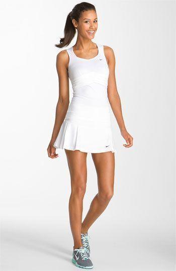 Nike Share Athlete Tennis Skirt Tennis Dresses Tennis Skirts Tennis Ladies Apparel Www Fitnessgir White Tennis Dress Tennis Outfit Women Tennis Dress