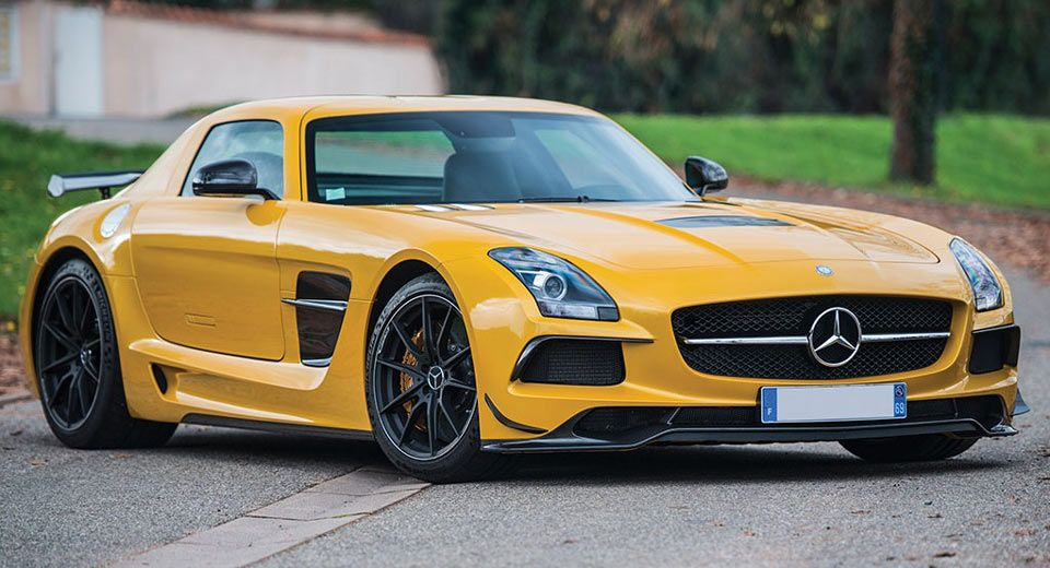 The Sls Amg Black Series Is One Merc That Can Make Amg Gt Owner