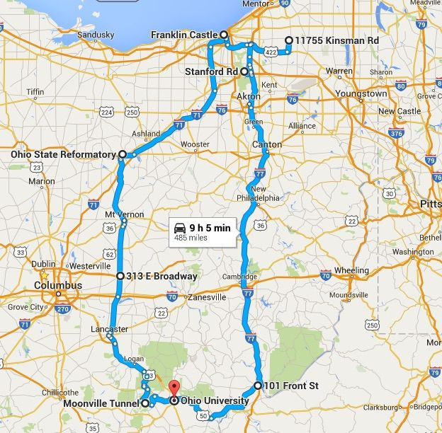 The Ultimate Terrifying Ohio Road Trip Is Right Here And You Ll Want To Do It Trip Ohio Travel Road Trip