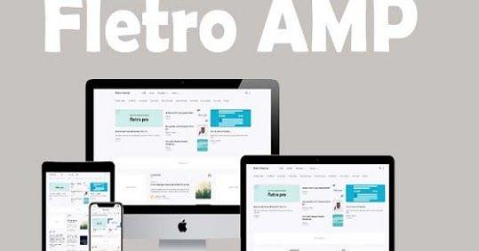 Fletro Amp Pro Responsive Blogger Template Di 2020