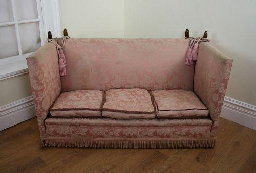 Super Pink Damask Antique Knole Sofa Sofas Knole Sofa Antique Inzonedesignstudio Interior Chair Design Inzonedesignstudiocom