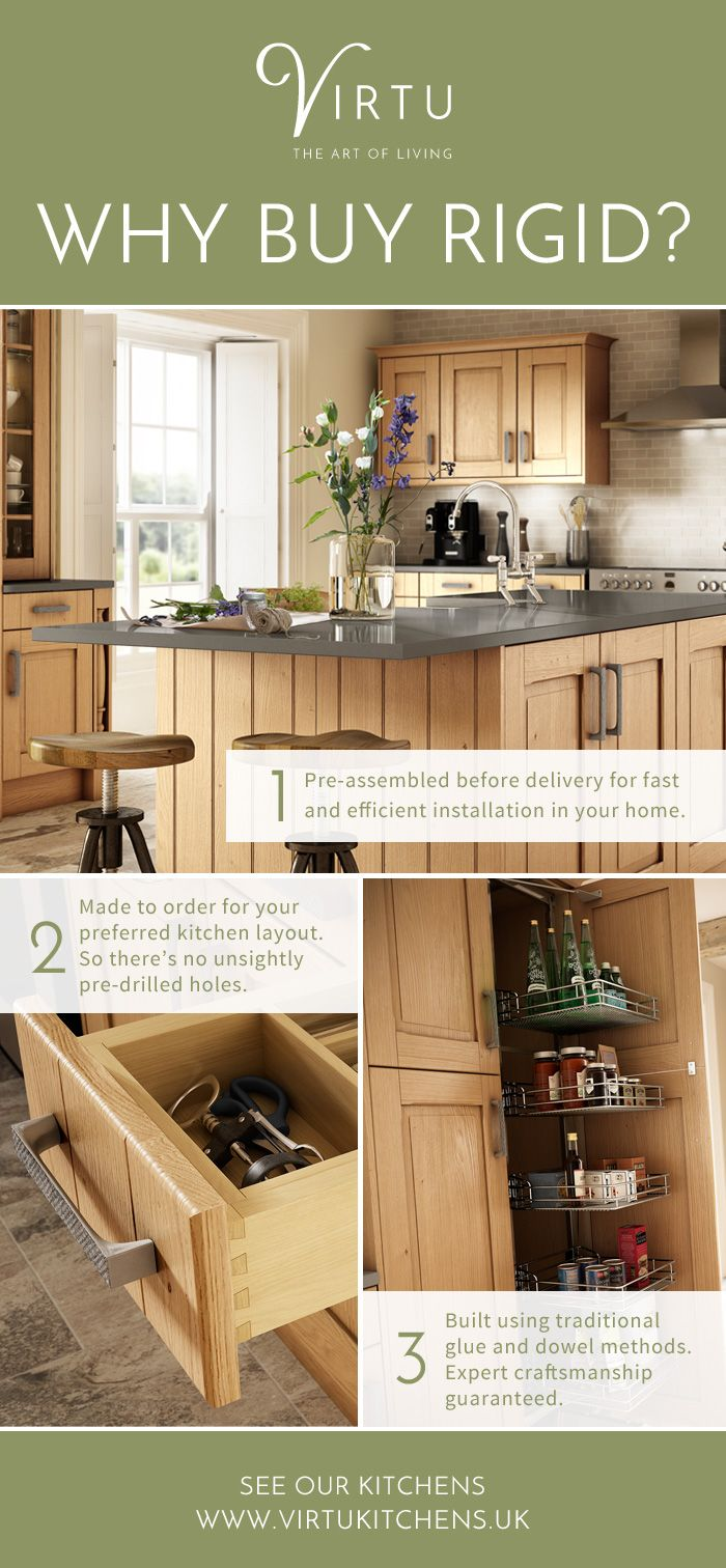 Crafted Bespoke Kitchen Cabinets