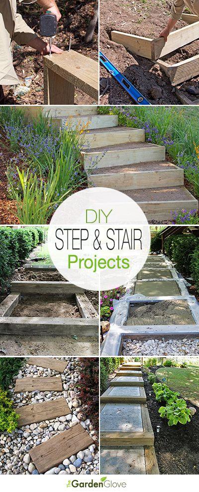 Backyard Garden Tutorial : Step by diy garden steps and stairs best