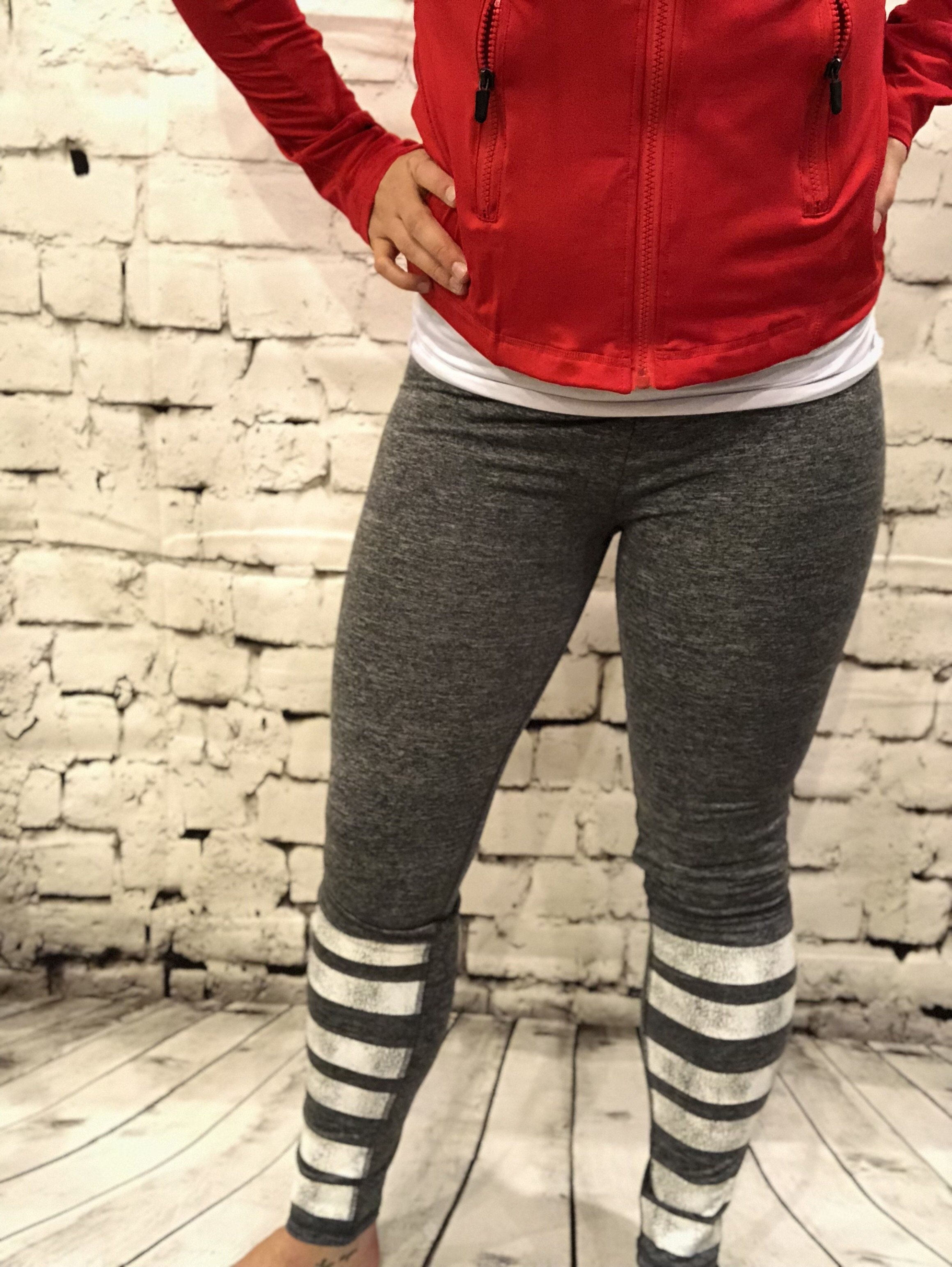 a85e118206 Low-rise crossover waistband legging with detail along front shins made for  low impact activity. - active stretch - waistband slit pocket - back zip ...