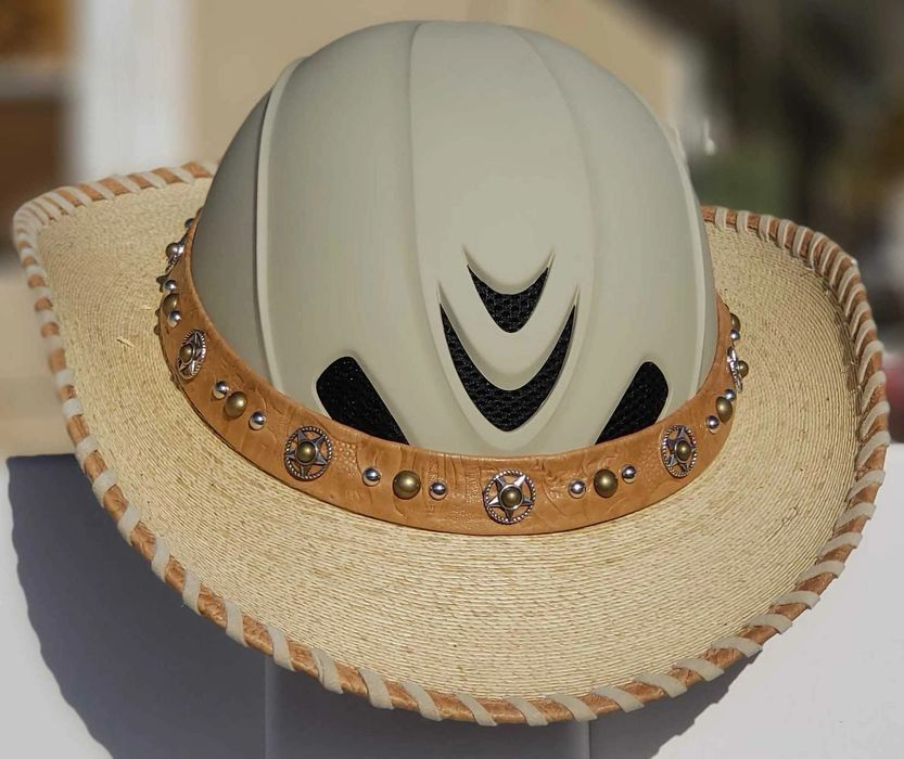 Shady Riders Part Helmet Part Cowboy Hat All Cool Every Ride Every Time Cowboy Hats Cowboy Cowboy Style