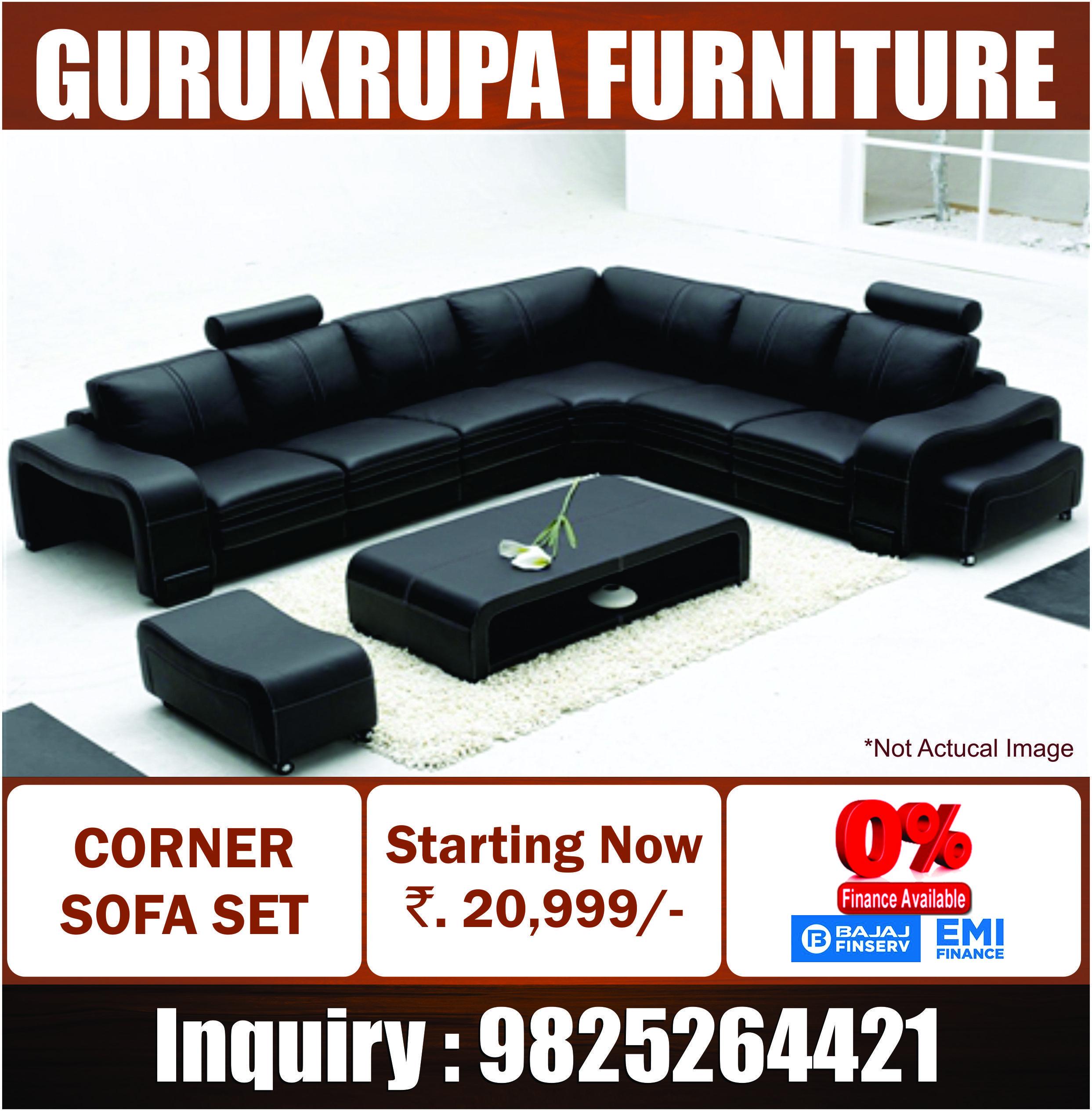 Cornersofa Gurukrupaahd Inquiry 9825264421 Corner Sofa Sofa Set Furniture Manufacturers