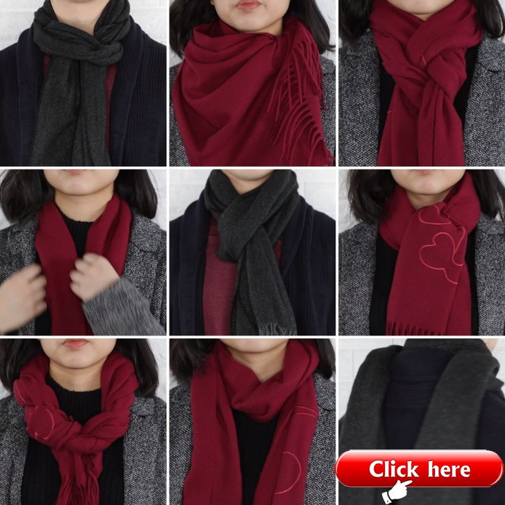9 Classy Ways To Wear A Winter Scarf #winter #fash