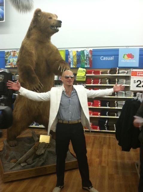 We Did It Pitbull Went To The Walmart In Kodiak Alaska Great Job Internet Alaska Kodiak Pitbulls