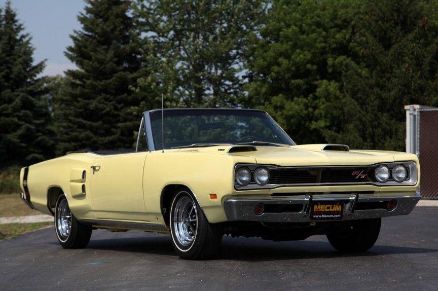 1967/1970 Dodge Coronet R/T 426 Hemi Convertible — 2 Produced ...