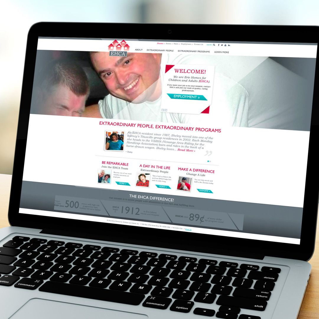 Erie Homes For Children And Adults Ehca Custome Website