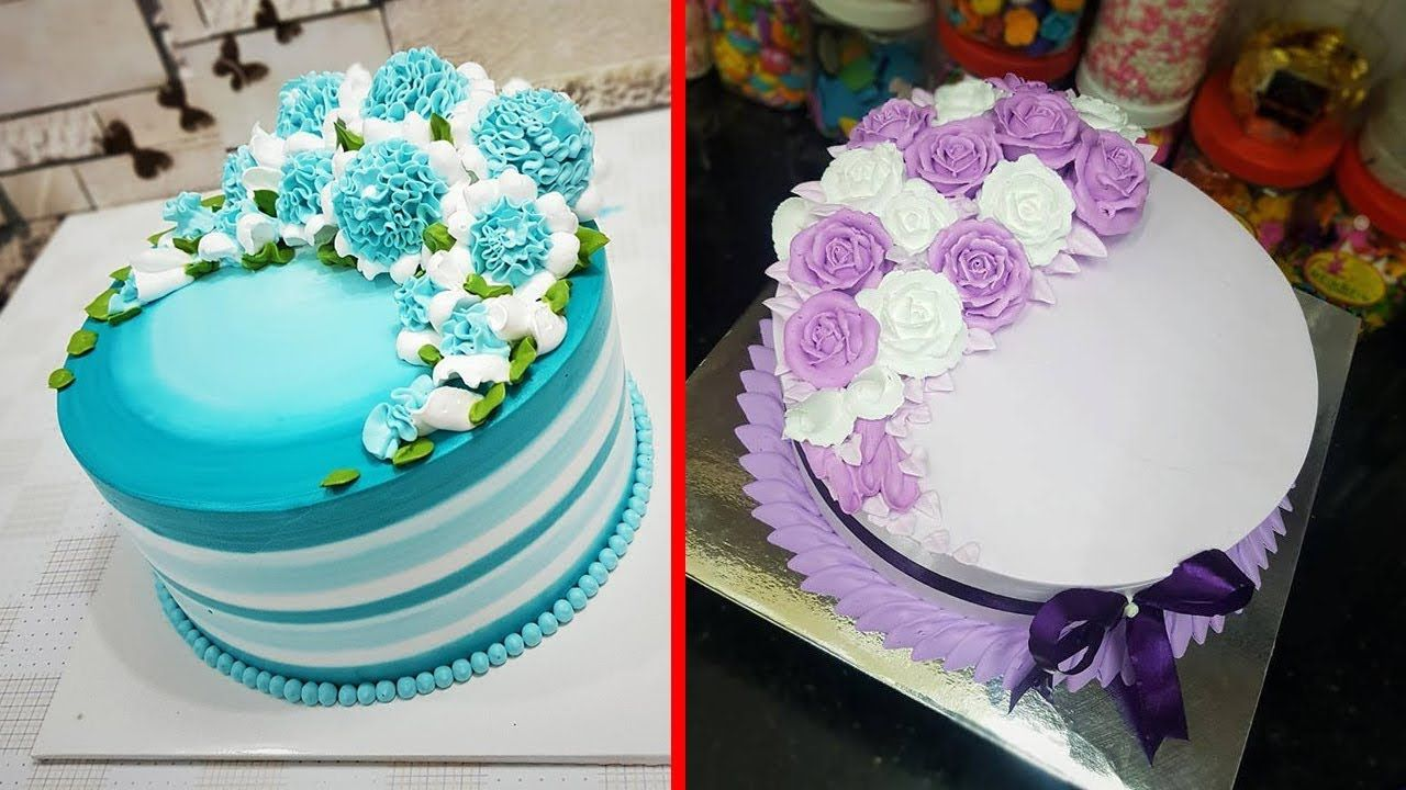 Top 10 Amazing Cake Decorating Tutorial The Most Satisfying Cake Decor Cake Decorating Videos Cake Decorating Tutorials Cake Decorating