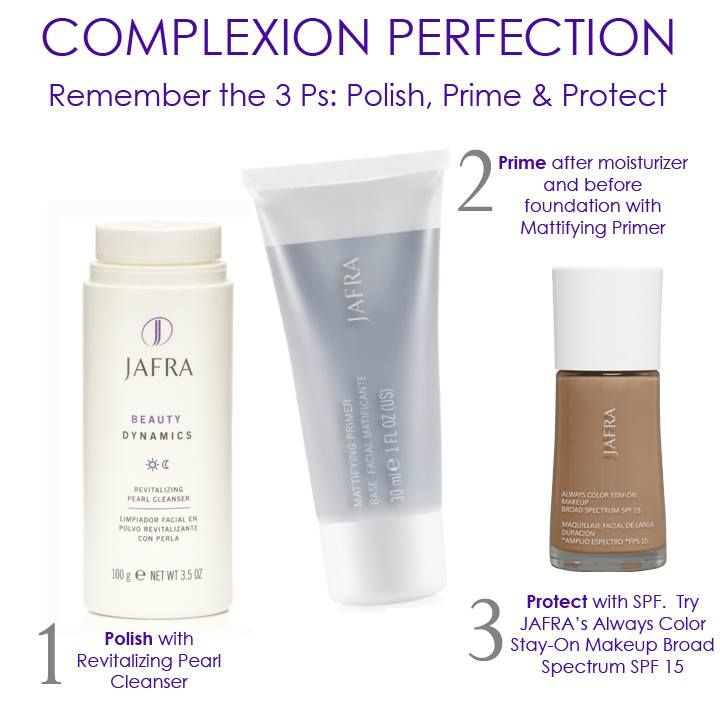 Jafra facial products