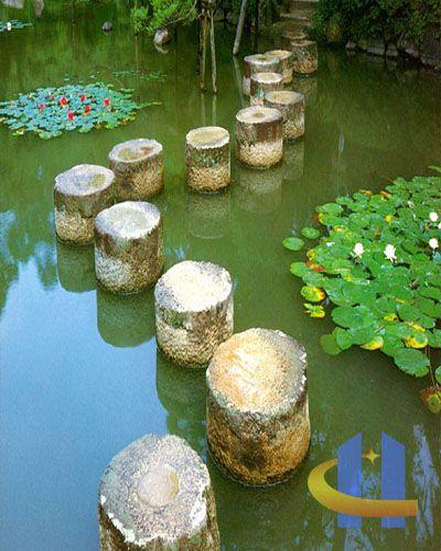 laternen-trittsteine Stepping stone (Trittsteine) Pinterest - trittplatten selber machen