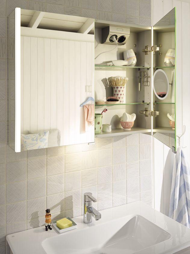 burgbad bel mirror cabinet with led lighting bel pinterest badmoebel m bel nach ma und. Black Bedroom Furniture Sets. Home Design Ideas