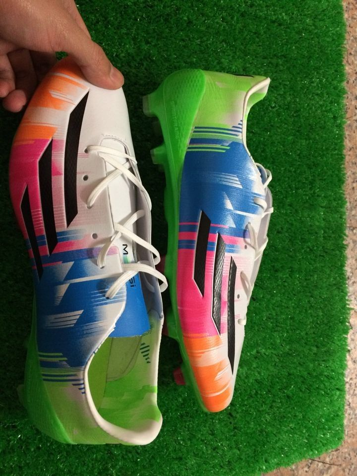 2014 Adidas World Cup Messi F50 Adizero Iv Fg White Purple Infared Soccer Shoes Soccer Shop On Www Worldsocce2014r Net Soccer Shoes Cool Boots Football Boots