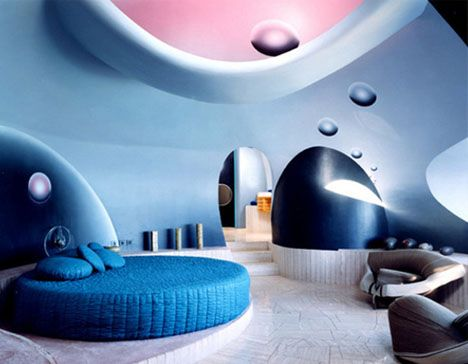 crazy house ~ | pierre cardin, space age and avant garde