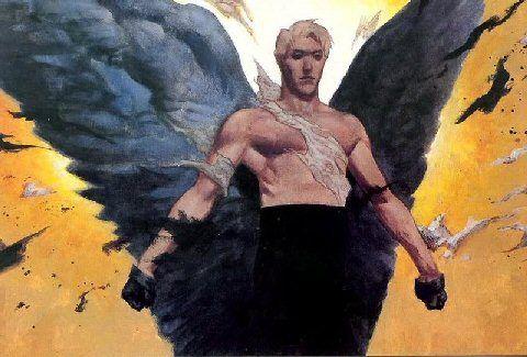 Samael Angel   Name: Samael/Lucifer, AKA Morningstar, Old Scratch