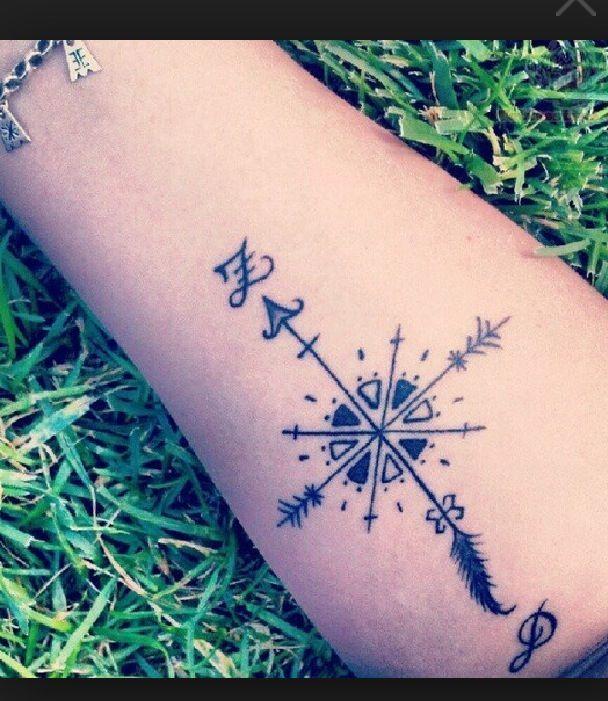 Image result for mandala compass rose tattoo