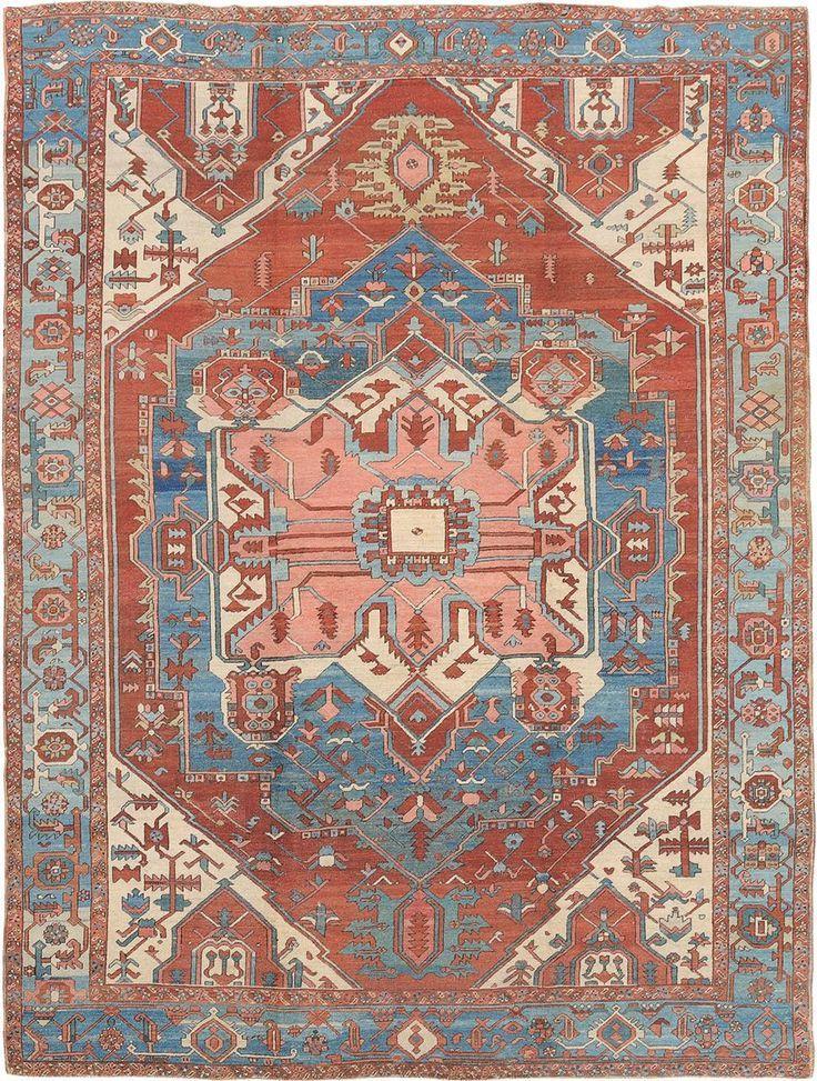 Persian Heriz Serapi rug Tappeti