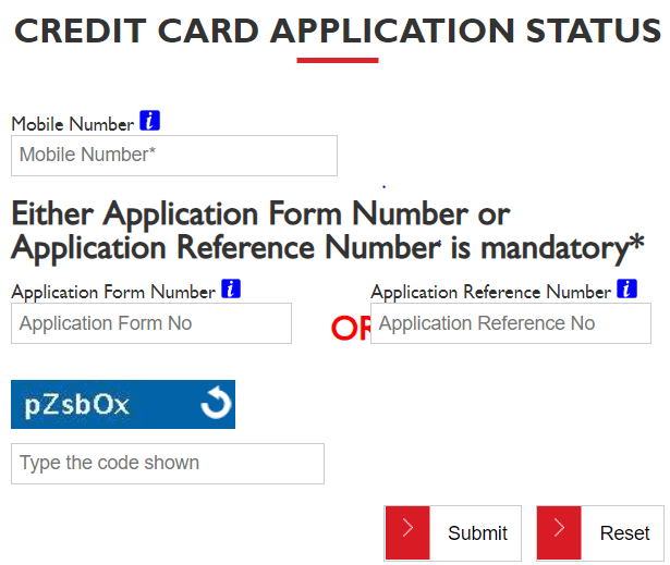 Check Credit Card Application Status With Images Credit Card Application Credit Card Application Form Credit Card
