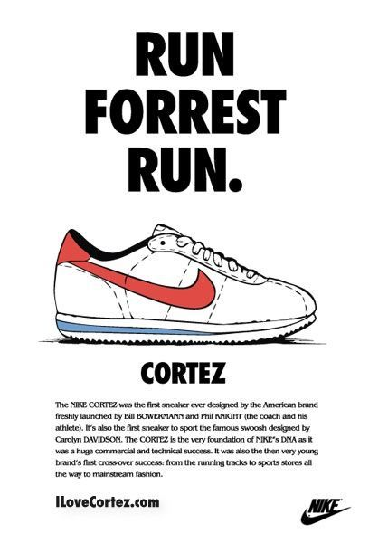 quality design aef4f c59e8 Nike Cortez. Forrest Gump  National Running Day  June 1.