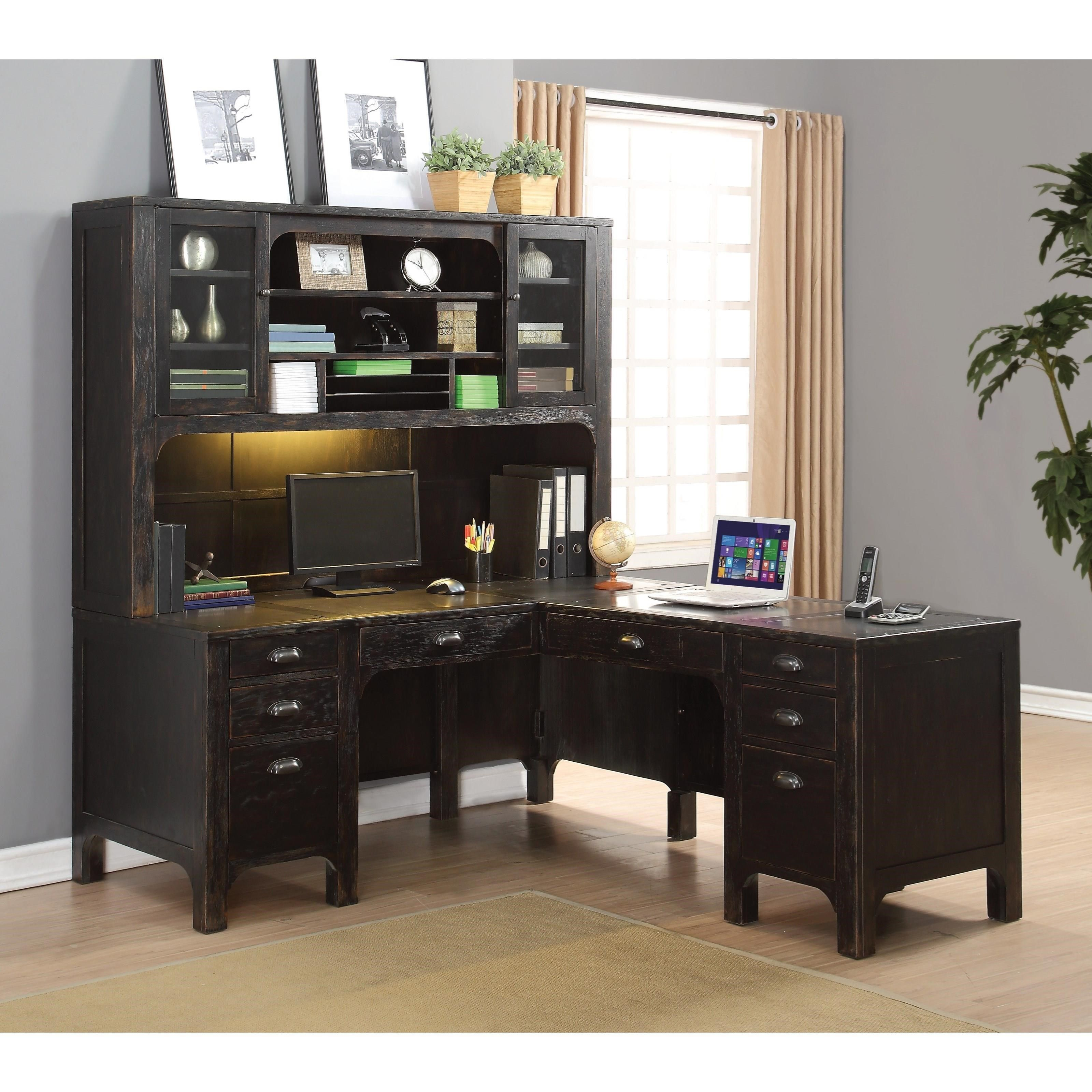 great desks ideas computer pc modern l desk eas white with shaped decor design contemporary fascinating