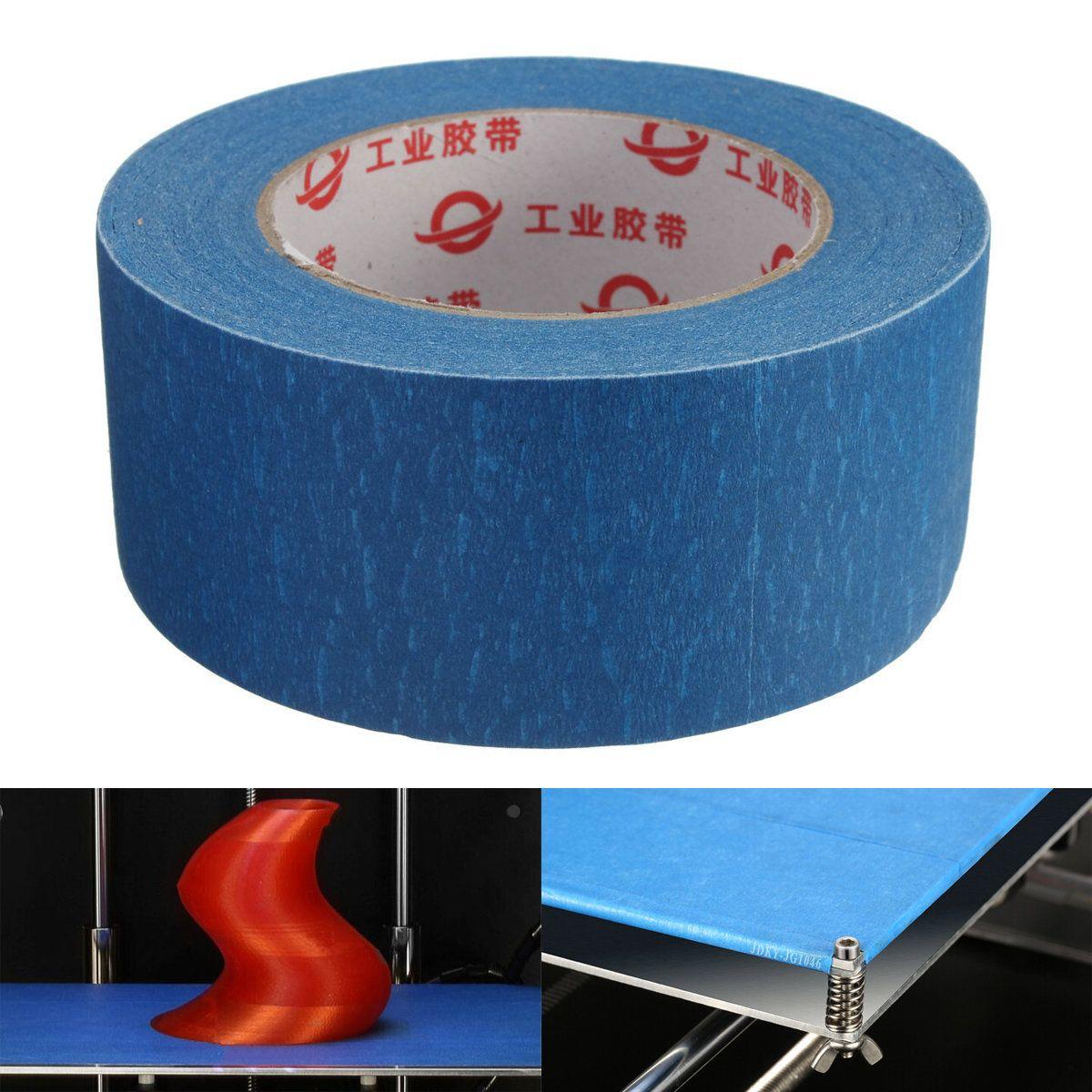 50mmx50m 50mm Wide 3D Printer Blue Tape Reprap Bed Tape