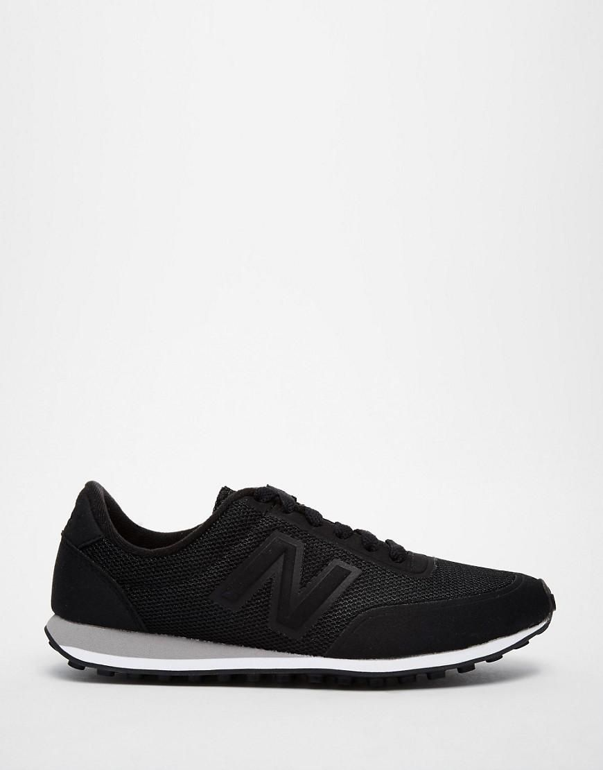New Balance 410 Black Sonic Trainers at