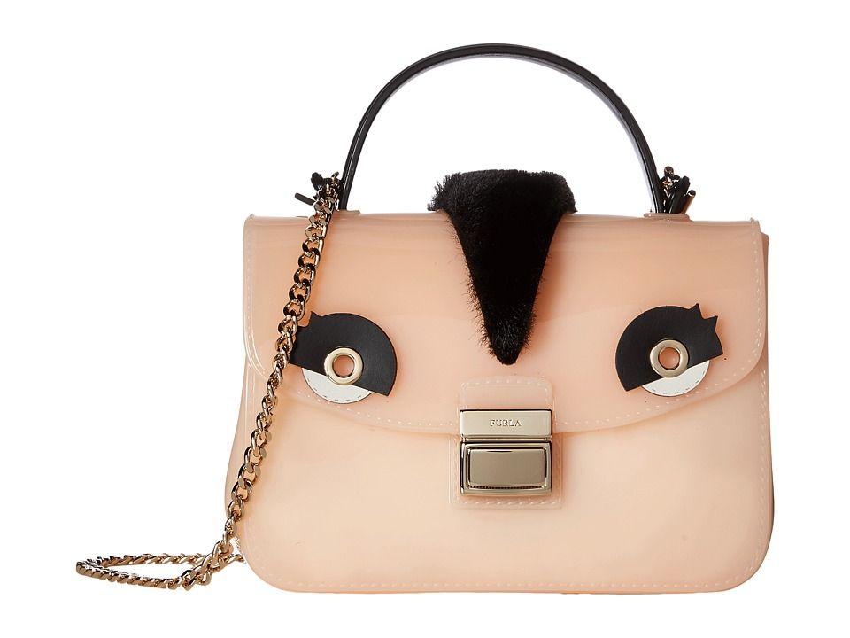 6ce5456d Furla Candy Tweet Sugar Mini Crossbody Cross Body Handbags Magnolia/Onyx