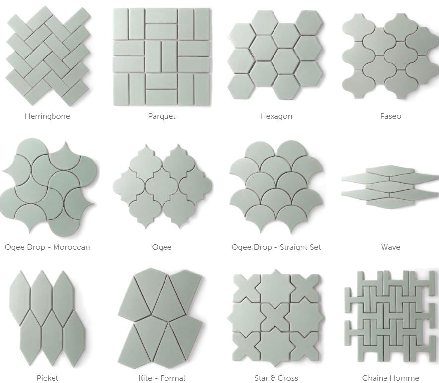 fireclay-tile #kitchen