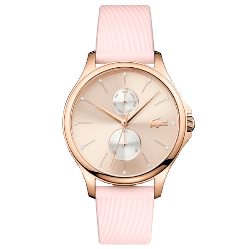 Relógio Lacoste Feminino Borracha Rosa - 2001025   presentes   Lacoste 487d29cfdd