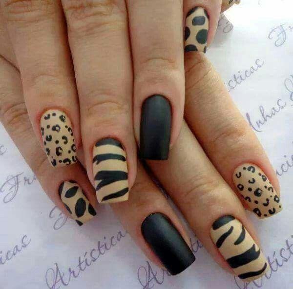 Gelisb Animal Print Uas Pinterest Cheetah Nail Designs
