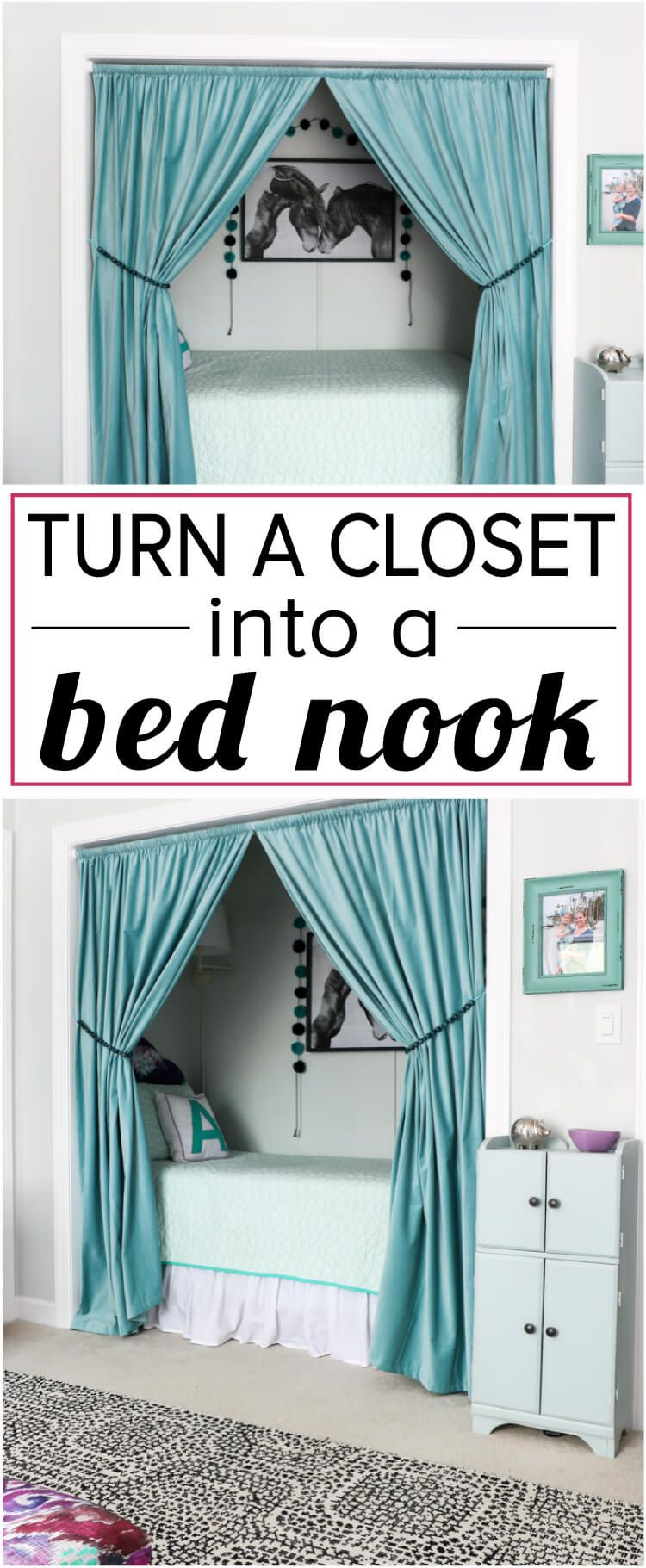 How To Turn A Garage Into A Bedroom: How To Turn A Closet Into A Bed Nook