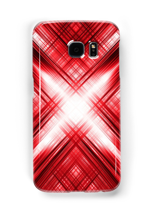 the best attitude 3afde 70e00 Red cross and grid pattern' Case/Skin for Samsung Galaxy by ...