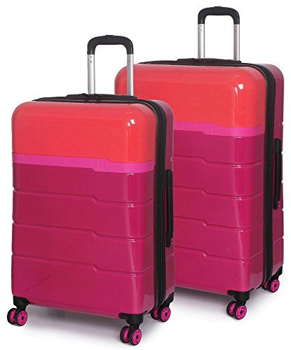 eb281a6a9675 IT Luggage Cocktail Collection 2 Piece Hardside Spinner Set 28 32 ...